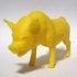 pig low poly image