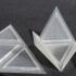 Foldable Tetrahedron - Print Flat image