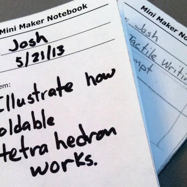 Mini Maker Notebook