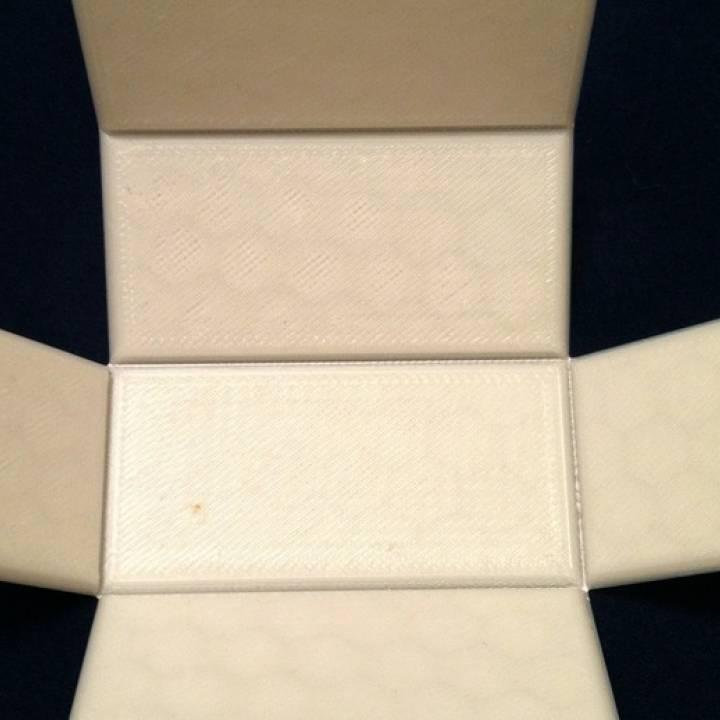 3d Printable Foldable Rectangular Prism Print Flat By