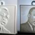 Martin Luther King, Jr. Lithopane image