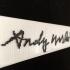 Andy Warhol's Signature image