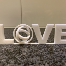 Picture of print of LOVE Gimbal