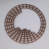 Circular Periodic Table print image