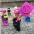 Minifig Women's March Signs image