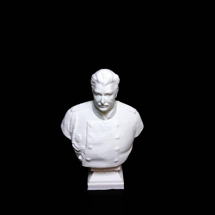 Bust of Nicolay Przhevalsky