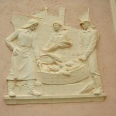 Relief depicting Fishermen
