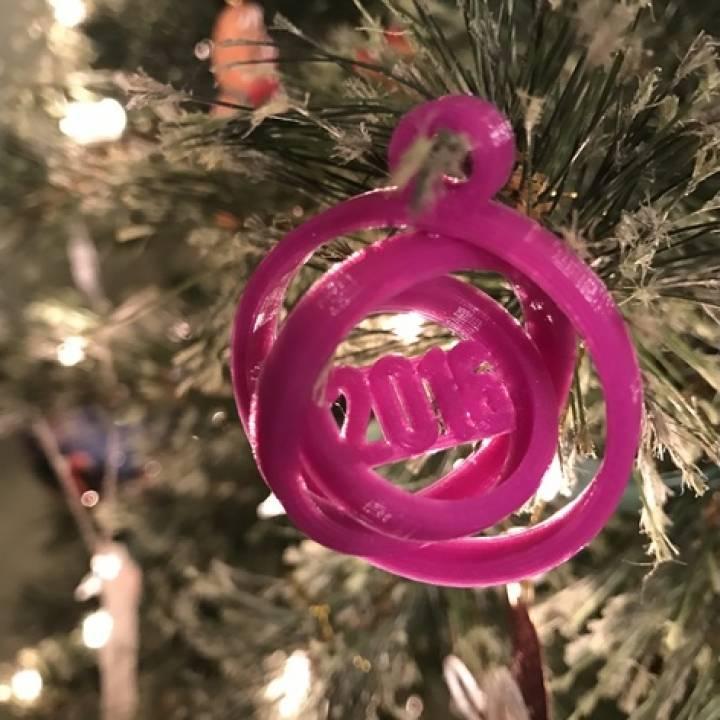 2016 Gimbal Ornament