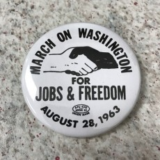 MLK March on Washington Button & Lesson Plan