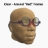 #DesignItWright - FLIPS V05 (New Product Design) - Social Media Flip-Able Spectacles - (Round Open Frames with Round or Shaped Lenses) image
