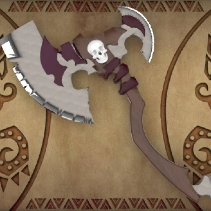 MONSTER HUNTER: Skull Axe