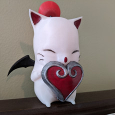 Picture of print of Valentine's Moogle