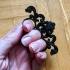 Untitled Three Finger Baroque ring print image