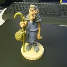 Lugnix, aus Asterix und der Seher