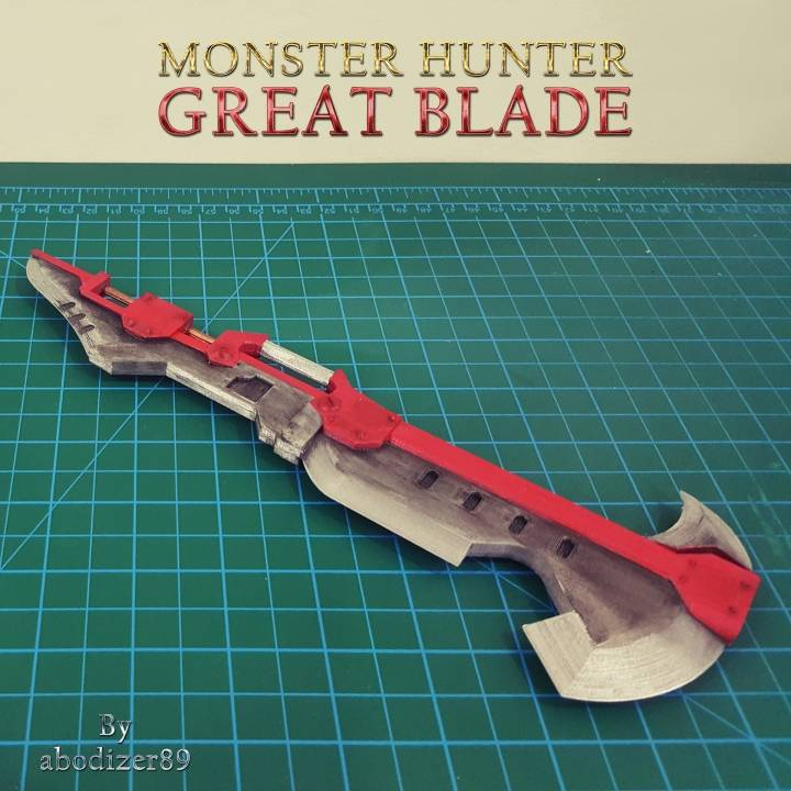 Monster Hunter - Red Great Blade