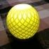 2 Table Lamps: Plain & Fancy image
