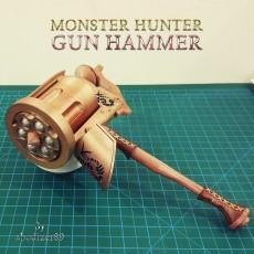 MONSTER HUNTER - GUN HAMMER