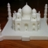 Nicely Detailed Model of The Taj Mahal image