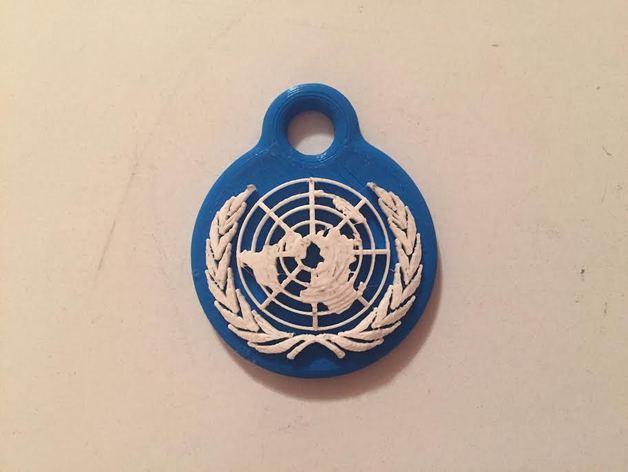 UN Keychain