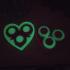 Gear Heart print image