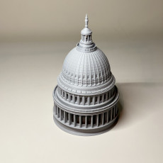 Picture of print of United States Capitol Dome