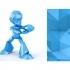 Mega Man Action Figure_Low Poly image