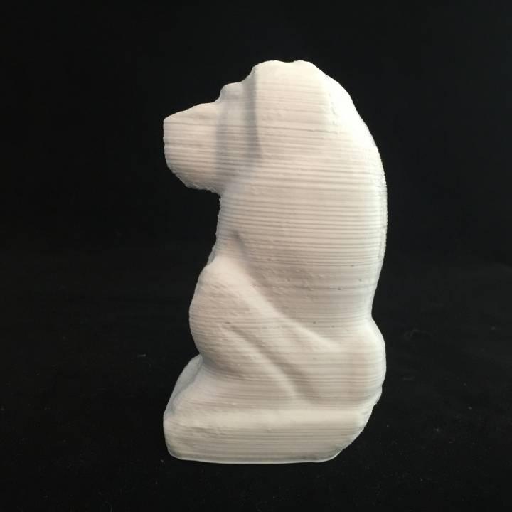 Figure of a baboon