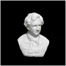 Bust of  gabor Egressy