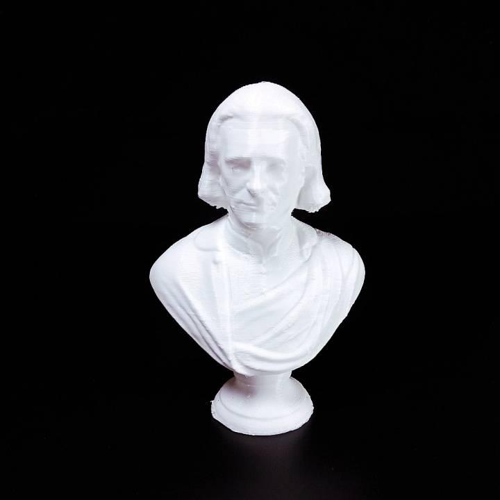 Bust of Franz Liszt