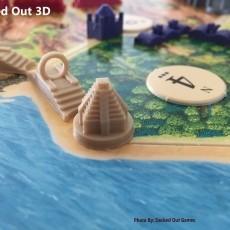 Aztec/Inca Theme Player Set / Settlers of Catan