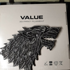 Picture of print of GoT Stark necklace