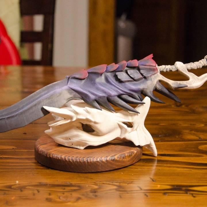 Monster Hunter Contest Wyvern Bone Sword
