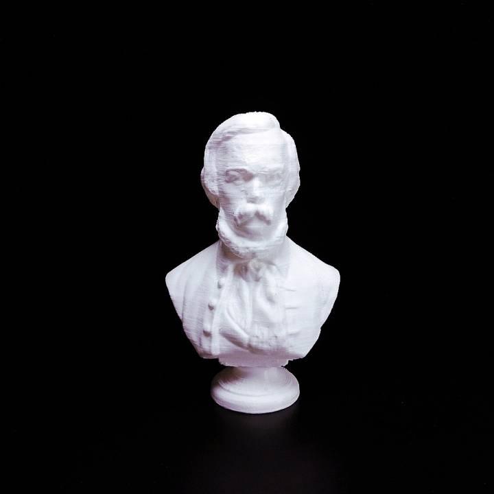 Bust of László Szalay
