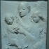 Relief: Madonna and child with angels image