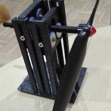 balancer tools for self tightening propeller (using tamiya rollers)