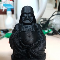 Picture of print of Yoda & Darth Vader - Pop Buddhas