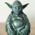 Yoda & Darth Vader - Pop Buddhas print image