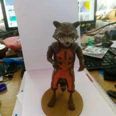 Picture of print of Guardians of the Galaxy Rocket Raccon Cet objet imprimé a été téléchargé par Bent Ole Thomsen