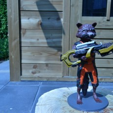 Picture of print of Guardians of the Galaxy Rocket Raccon Cet objet imprimé a été téléchargé par Jordy Weening