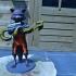 Guardians of the Galaxy Rocket Raccon print image