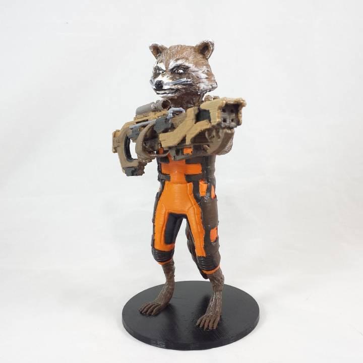 Guardians of the Galaxy Rocket Raccon