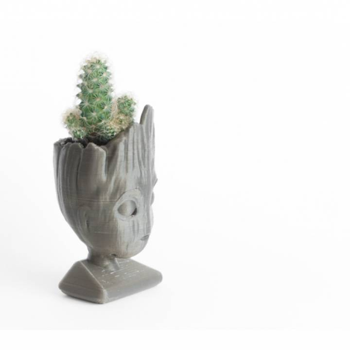 Baby groot (remixed) head planter