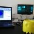 Ghost Pacman Planter print image