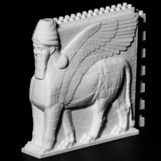 Picture of print of Lamassu