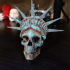 Liberty is Dying in High Resolution! print image