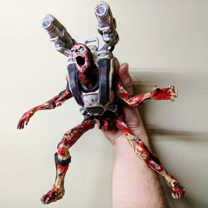 3d Printable Revenant Posed Doom By Forest Rebock