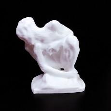 Rodin Portland Art Museum 3D scan Crouching Woman