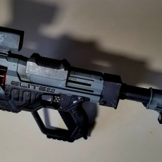 Picture of print of NERF Barrel extension