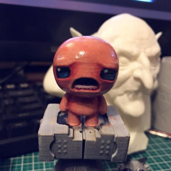 """isaac from """"the binding of isaac"""" game"""