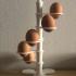 Spiral Egg/Shot-Glass Stand print image